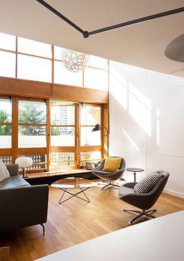 Rénovation totale appartement Cité radieuse Corbusier Marseille