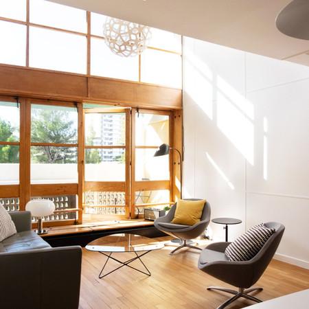 Appartement // Le corbusier la cité radieuse