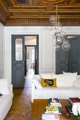 Rénovation appartement haussmannien architecture d'intérieur
