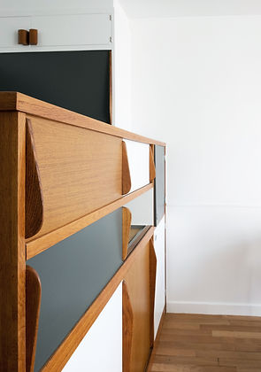 rénovation cuisine Corbusier architecte d'intérieur