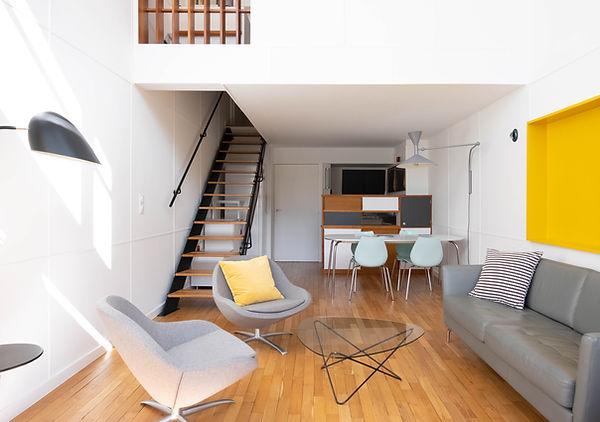 architecte d'intérieur corbusier Marseille cité radieuse