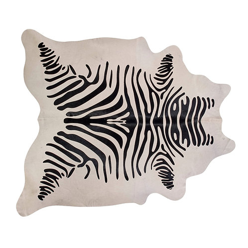 Chadwick Zebra Cowhide, 6' X 7