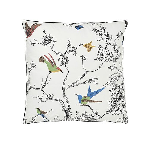 """Birds & Butterflies 20"""" Pillow - SO17476005"""