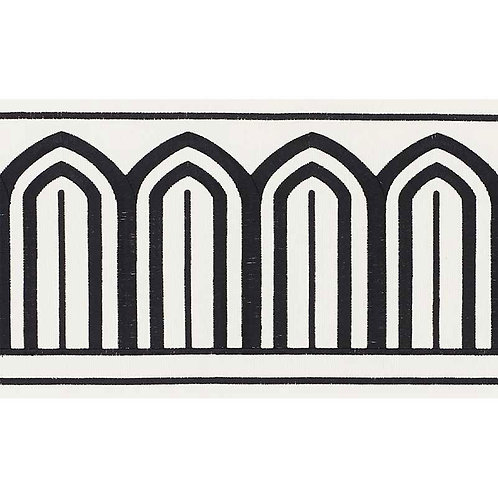 ARCHES EMBROIDERED TAPE WIDE