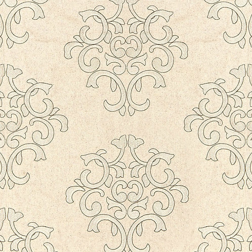 BYRON EMBROIDERED WOOL