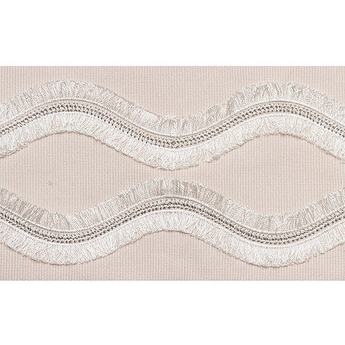 OGEE EMBROIDERED TAPE