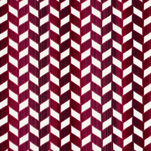 CHEVRON STRIE VELVET
