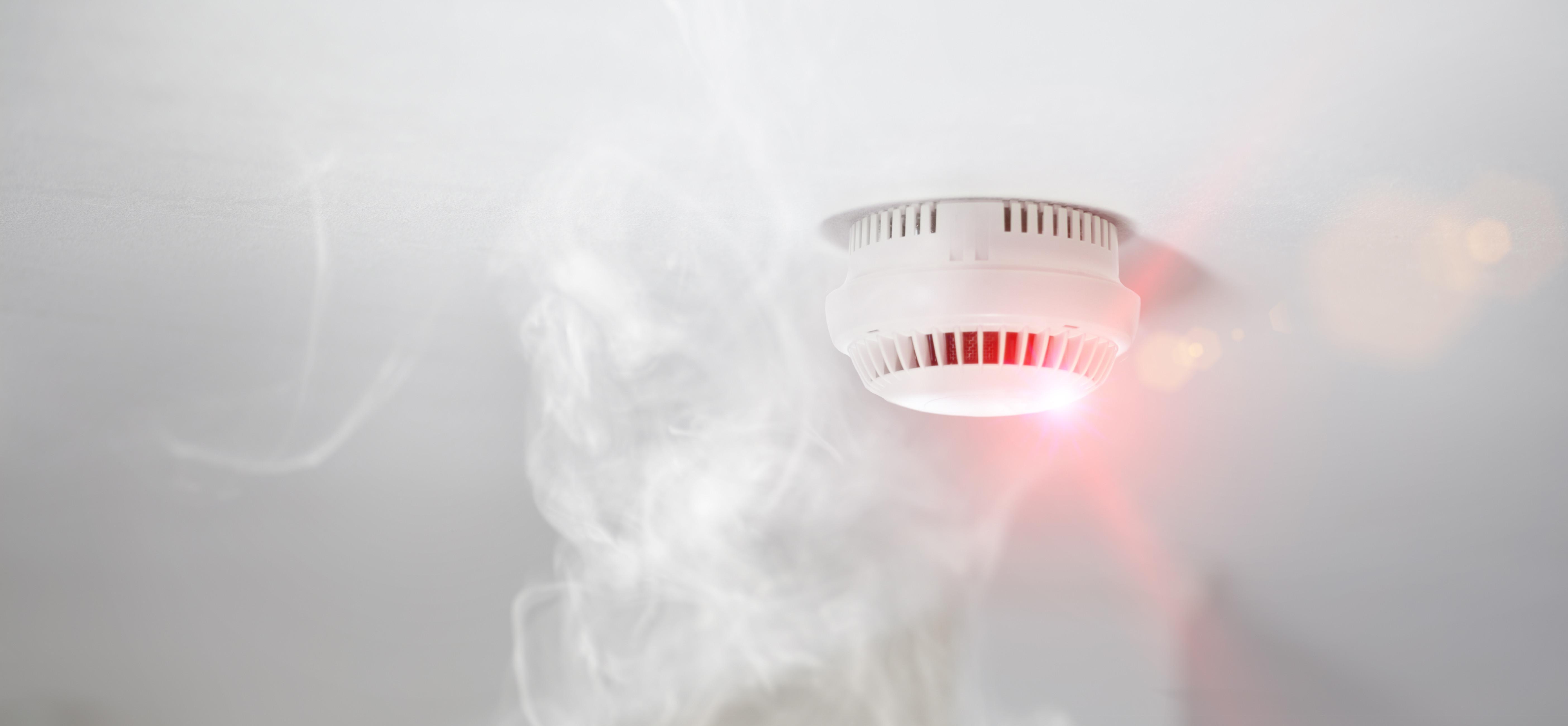 Smoke Alarm System - Battery H+S