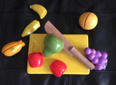 Toy of the Week - chop chop fruit