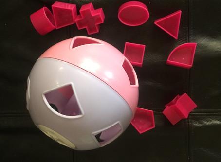 Toy of the Week - tupperware shape sorter
