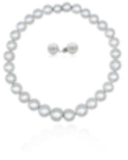 South Sea white pearl fine jewellery set