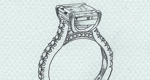 bespoke client design sketch
