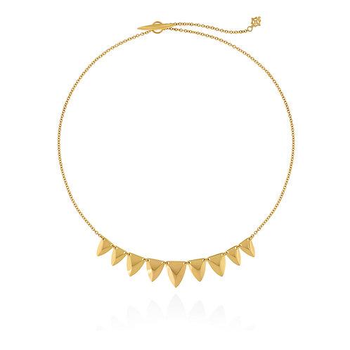 Petite Shield Necklace