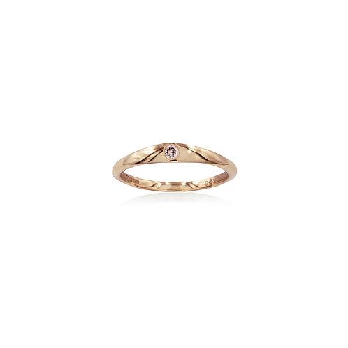 Pink Pinky Ring