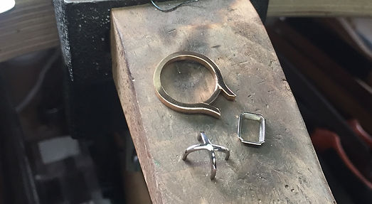 bespoke ring fine jewellery cast for manufacturing