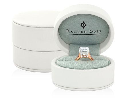 Raliegh Goss fine jewellery ring box