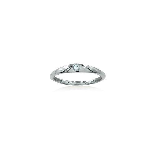 White Pinky Ring