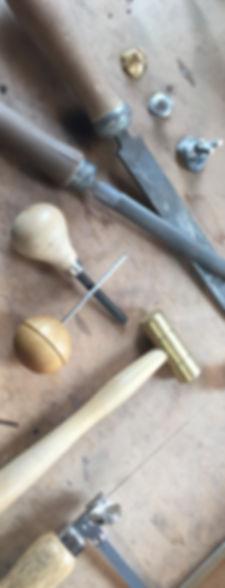 Raliegh Goss manufacturing fine jewellery