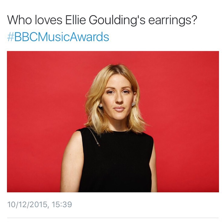 Ellie Goulding wears Raliegh Gos