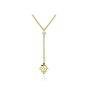 Raliegh Goss signature diamond pendant