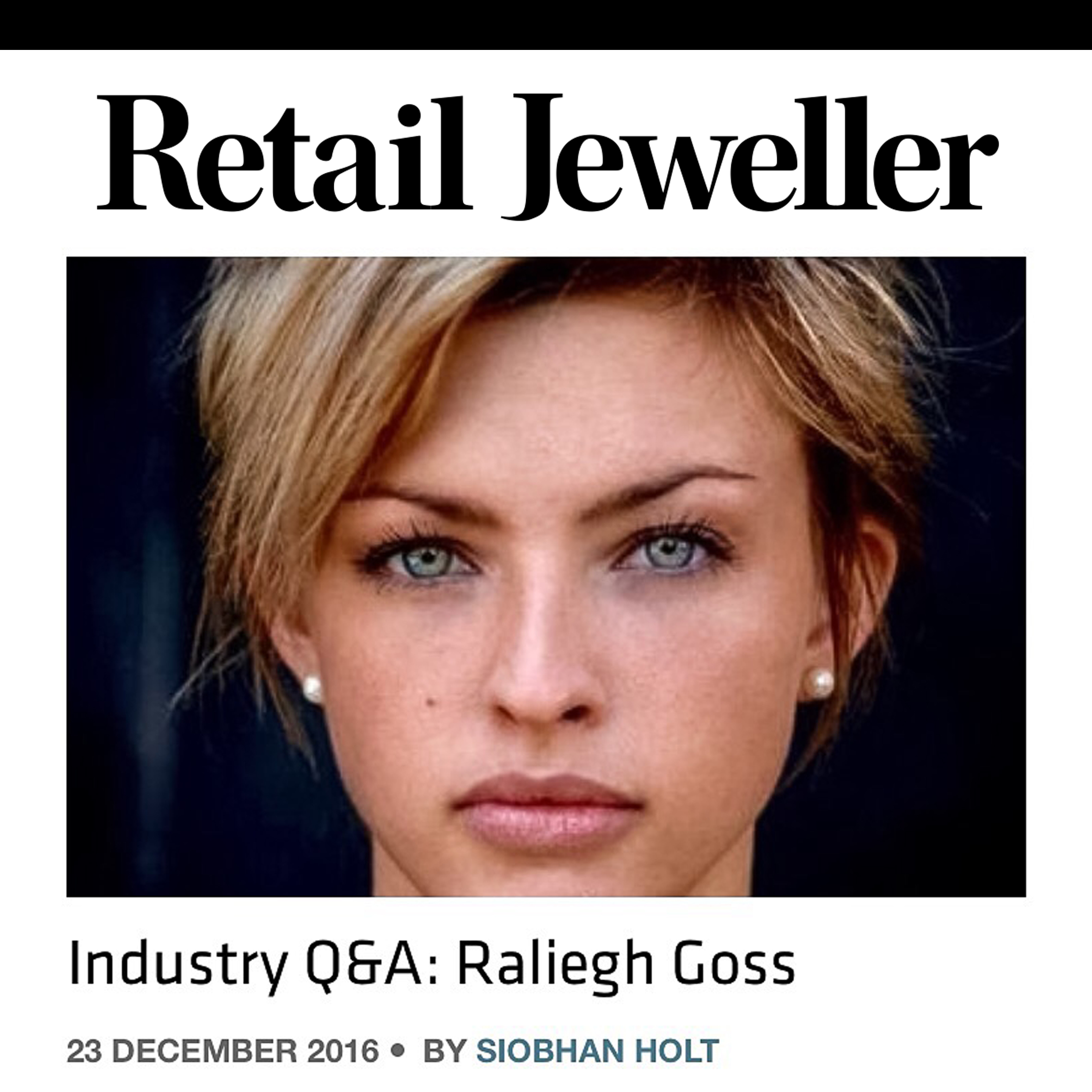 Retail Jeweller Q&A