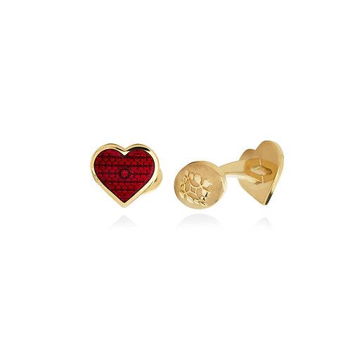 Hearts Cufflink