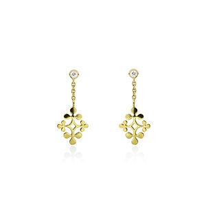 Raliegh Goss signature diamond earrings
