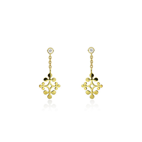 Signature Diamond Earrings