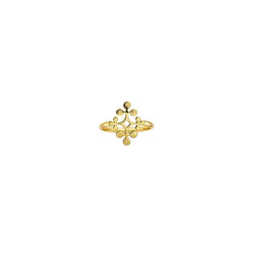 Yellow Gold Signature Ring