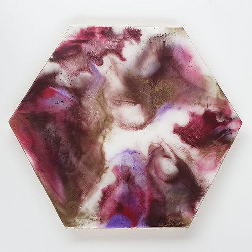 Epoxy Art - Purplelicious (50 cm)