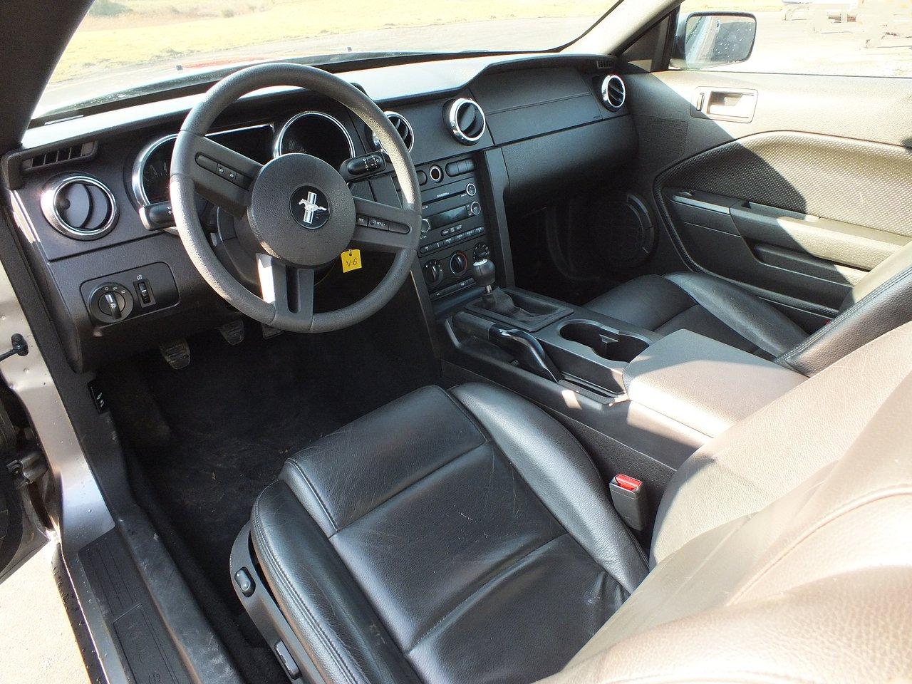 Mustang+Interieur