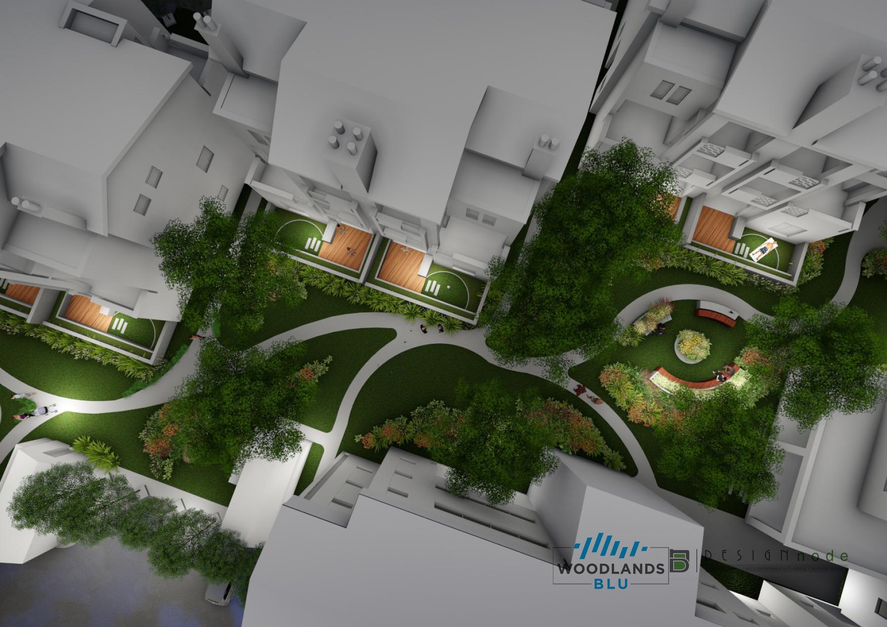Woodlands Blu Estate, 160 units