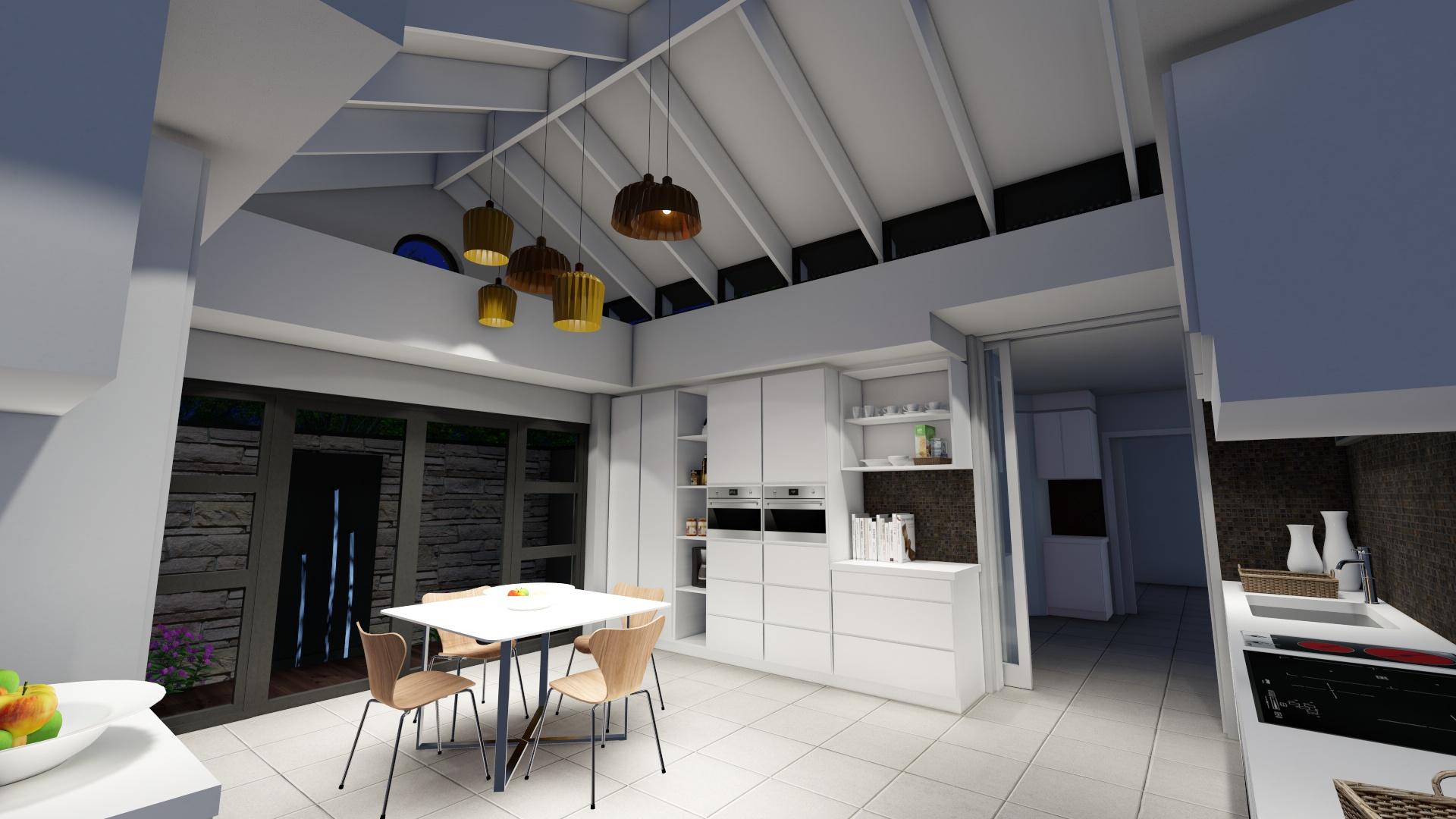 Kitchen Lights test