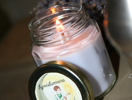 6.5 oz Lavender Soy Candle