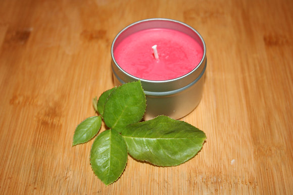 4 oz Cranberry Woods Soy Candle