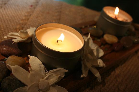 4 oz Gardenia Soy Candle