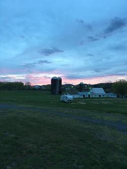 campground sunrise