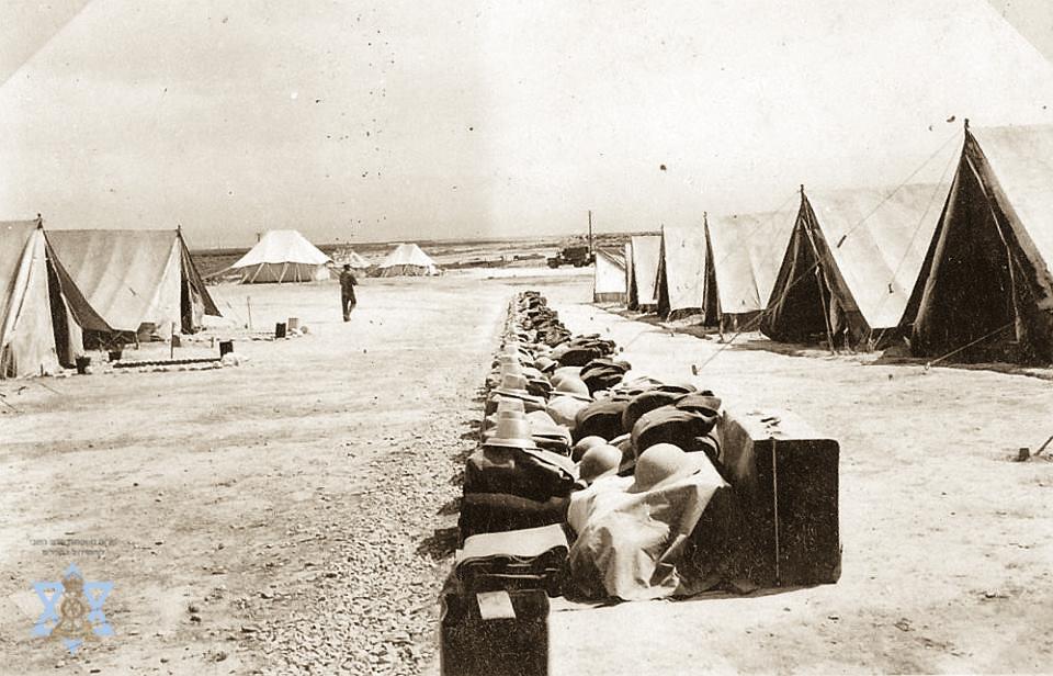 מחנה אוהלים פלוגת הובלה