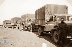 משאיות פלוגת ההובלה
