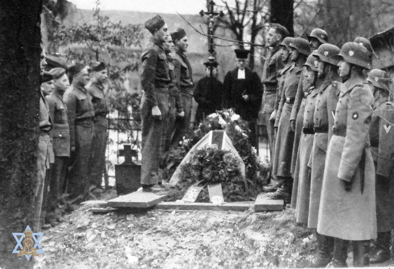 הלוויה צבאית לשבוי יהודי