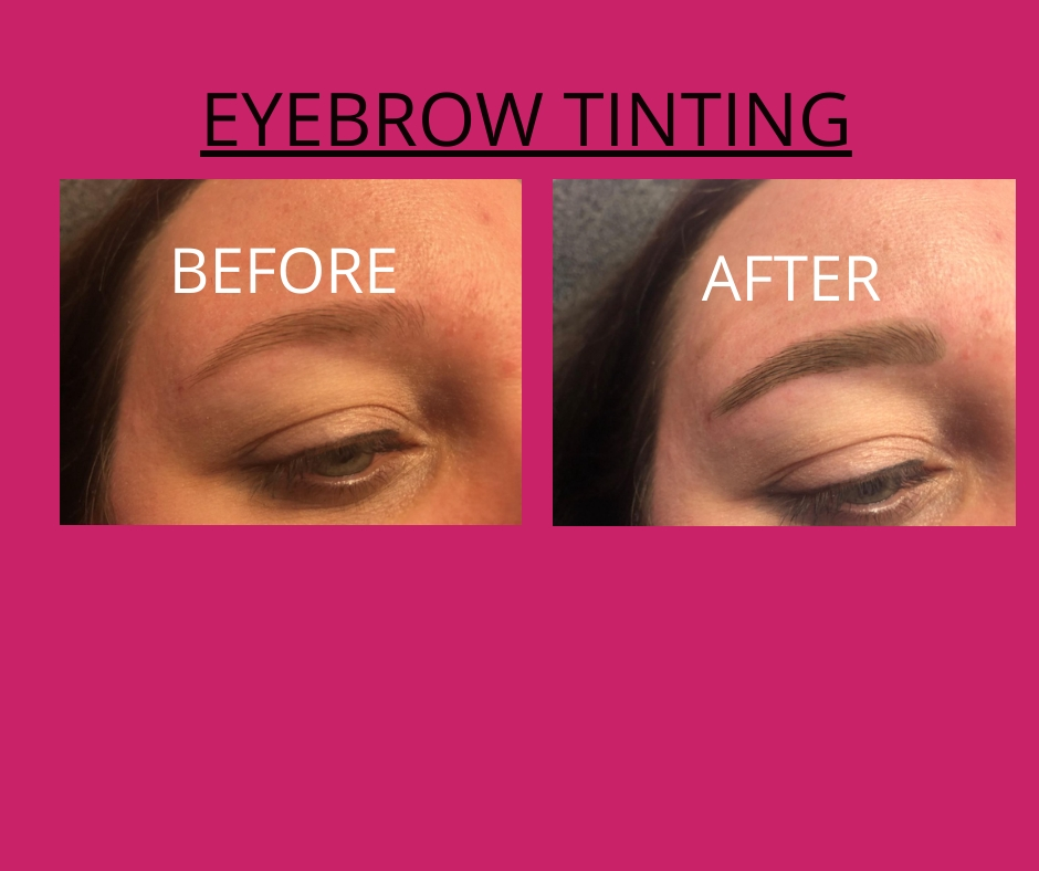 Eyebrow Tinting 2
