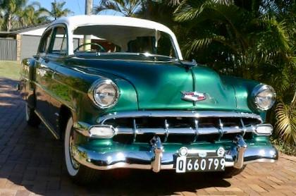 1954 Deluxe sedan