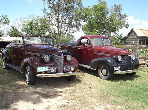 1939 Roadster & utility