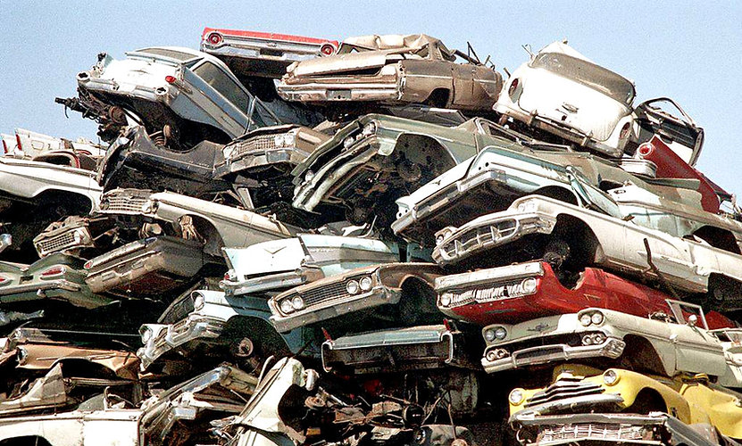 Crushed 1950s cars.jpg