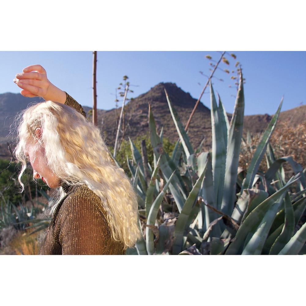 Cactus by Rosie Hardwick model Katie Hardwick