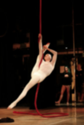 Katie Hardwick Nun Rope Act by Tim Hinchliffe Photography