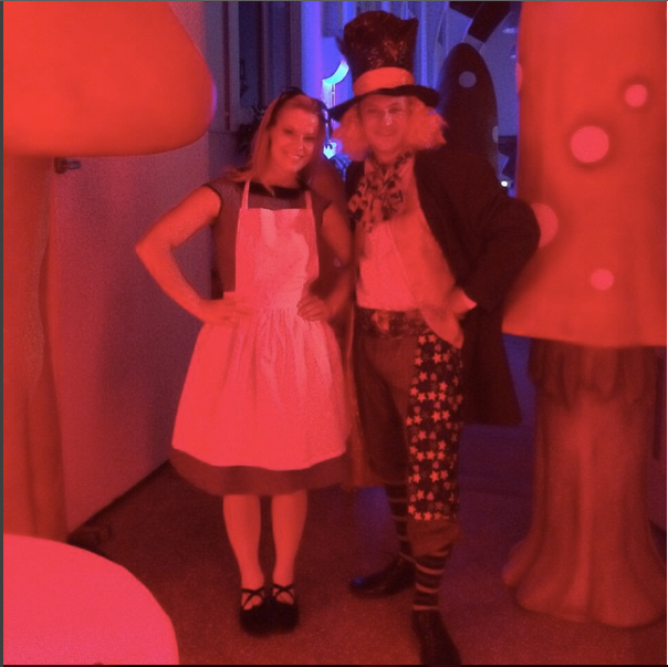 Alice in Wonderland and Mad Hatter The Dream Performance