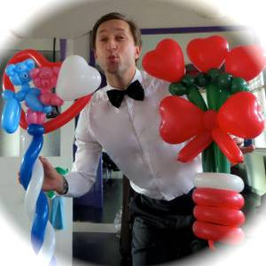 Valentines Balloon Modelling