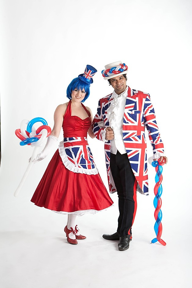 Best of British themed Balloons