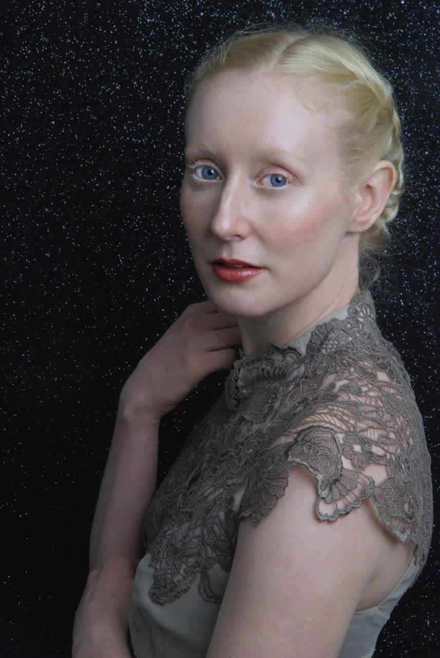 Portrait of actress Katie Hardwick